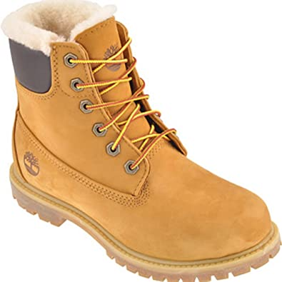 innovative design dd50c 5d22a Timberland Damen 6in Premium Shearling Boots Waterproof EU ...