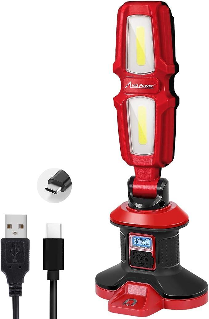Recargable de 1.600 l/úmenes 6 Potente l/ámpara Modos de Bicicletas de Ciclismo Luces USB Control Remoto Resistentes 125 Faros de Bicicleta a Prueba de Agua y el Desgaste Ancho Iluminado LED