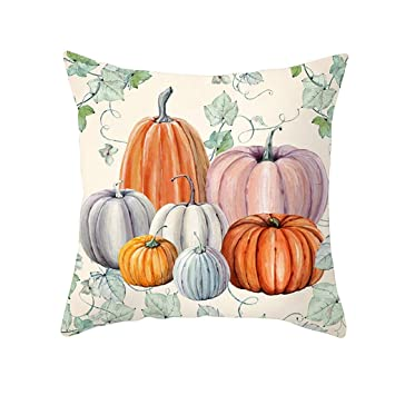 Swell Amazon Com Goutique Halloween Pumpkin Throw Pillow Cover Ncnpc Chair Design For Home Ncnpcorg