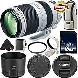 Canon EF 100-400mm f/4.5-5.6L IS II USM Lens International Version (No Warranty) 9524B002 - Essential Bundle