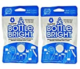2- PACK Hydrapak Bottle Bright 12 Count Biodegradable Bottle Cleaning Tablets, Chlorine-free and All Natural, Safe Way to Clean and Odor-free Bottles