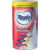 Regio Toallas De Papel Regio Multi Absorb 1 Rollo De 180 Hojas Dobles, color, 180 count, pack of/paquete de