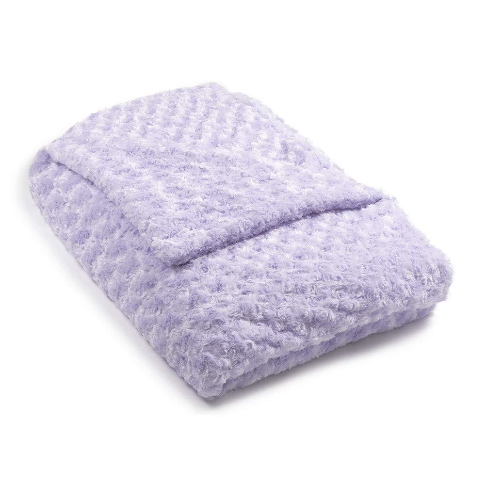 48x78 14 lb Lavender Chenille Magic Blanket - The Blanket That Hugs You Back   World