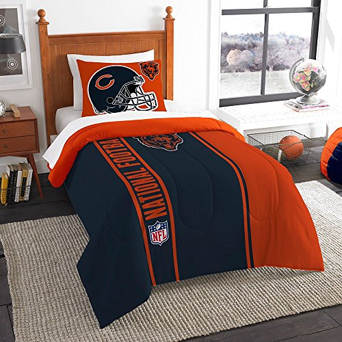 Bears Set Chicago Full Sheet (IWG NFL Chicago Bears Twin Comforter Set)