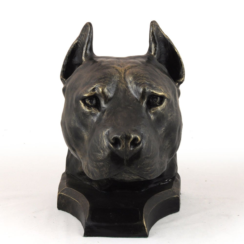 American Staffordshire Terrier, memorial, urn for dog's ashes, ArtDog