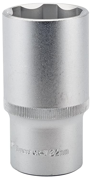 Bahco 12SM22 Socket 22mm 1//2-inch Square Drive