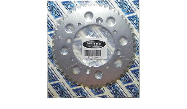 Yamaha Steel Rear Sprocket Moto-X TT-R 50 2006-2017// BW 80 1990// PW 80 1983-2009// TT 90 2000 45 Teeth RSY-018-45