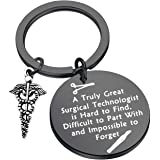 LQRI Surgical Technologist Gift Surgical Tech Keychain Gift A True Great Surgical Technologist is Hard to Find Keychain…