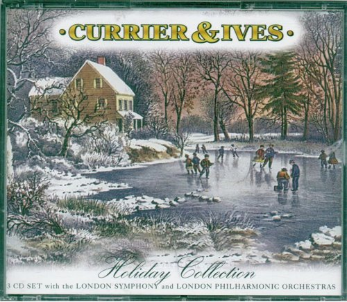 Currier & Ives - Holiday Collection - 3 CD Set