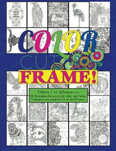 Download Color, Cut, Frame, Volume 1, ephemera ebook