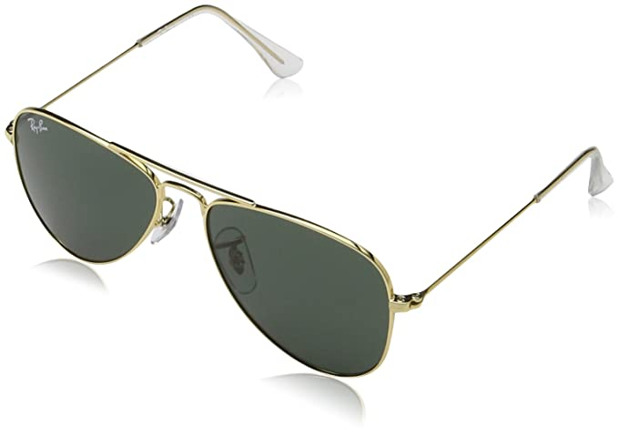288510532e Ray-Ban Junior 0RJ9506S - Gafas de sol Unisex Niño, Gold 50: Amazon ...