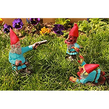 Amazon.com : Zombie Gnomes: Collection : Garden & Outdoor