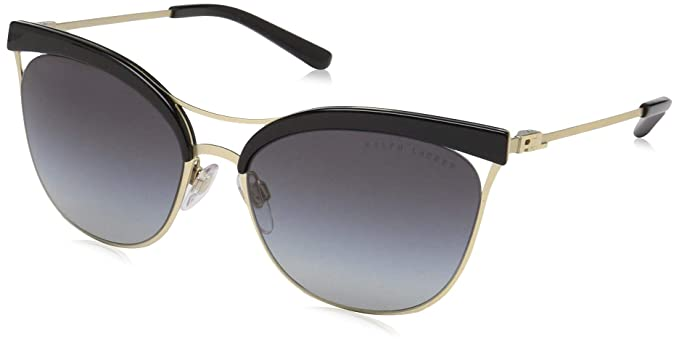 Ralph Lauren 0RL7061, Gafas de Sol para Mujer, Black/Sanded ...