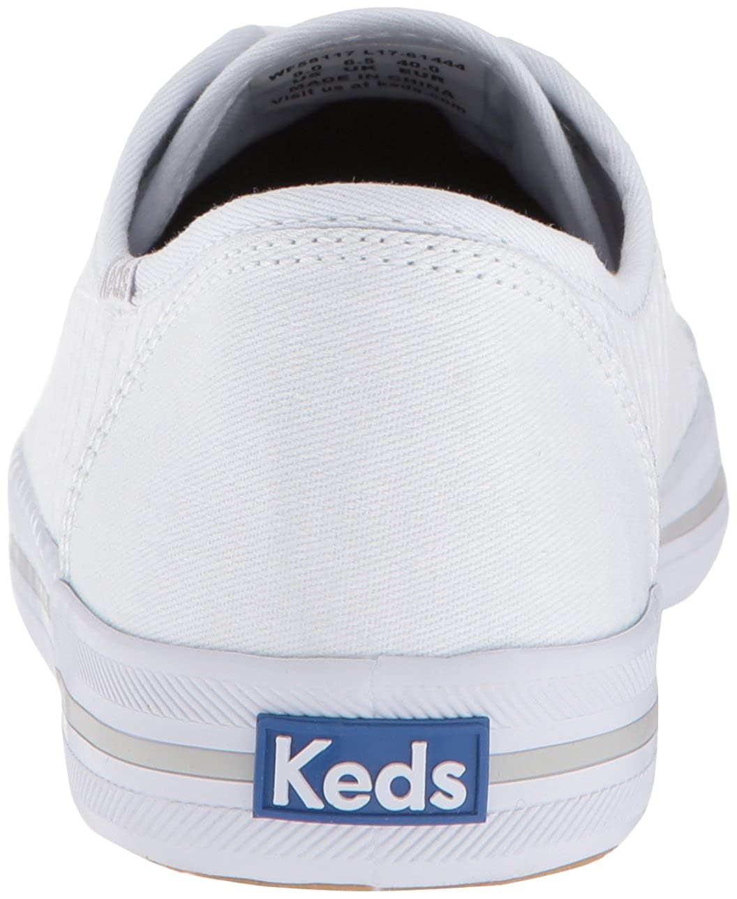 Keds Womens Kickstart Eyelet Stripe Sneakers