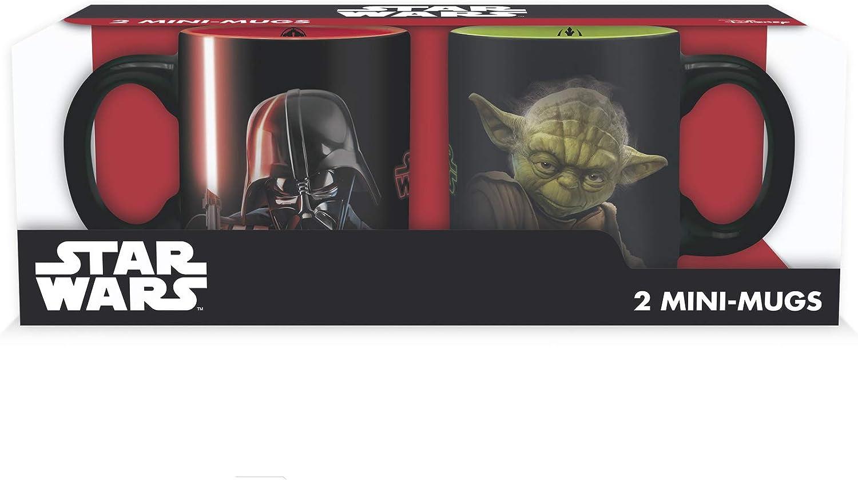 ABYstyle Fairy Tail Star Wars Juego de 2 mini-mugs vader VS Yoda para Adultos, abymug233: Amazon.es: Juguetes y juegos