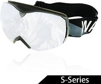 Wacool Multicolor Professional Snowboard Skate Ski Goggles
