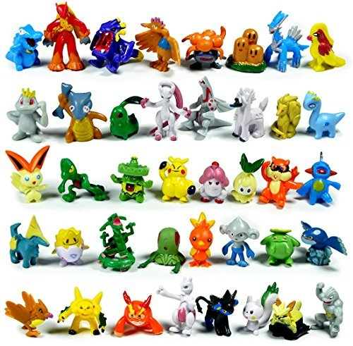 Generic Lots of Monster Action Figures Toys (144Piece) (Action Figurine)