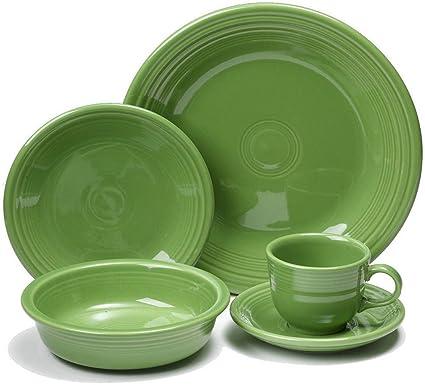 Fiesta Dinnerware 20 Piece Dining Set - Shamrock Green - 855324  sc 1 st  Amazon.com & Amazon.com   Fiesta Dinnerware 20 Piece Dining Set - Shamrock Green ...
