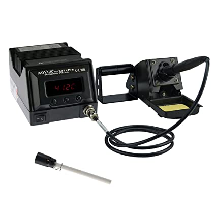 Aoyue 937+ Digital Soldering Station - ESD Safe includes Spare Element UPDATED VERSION!