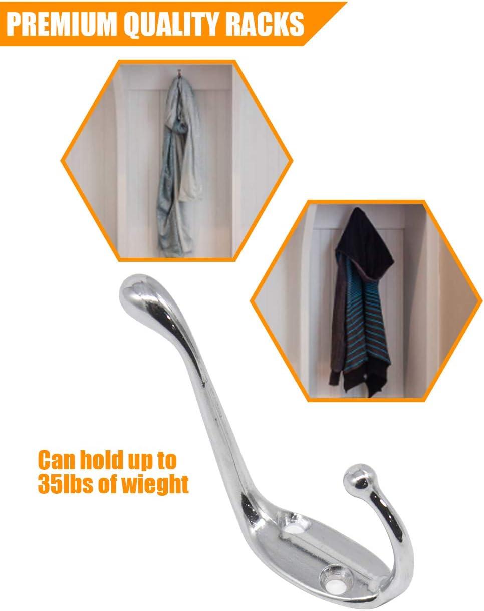 Gancho adhesivo para colgar ropa ETGUN 1 2 unidades, color verde oscuro