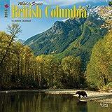 British Columbia, Wild & Scenic 2018 12 x 12 Inch Monthly Square Wall Calendar, Canada Scenic Nature