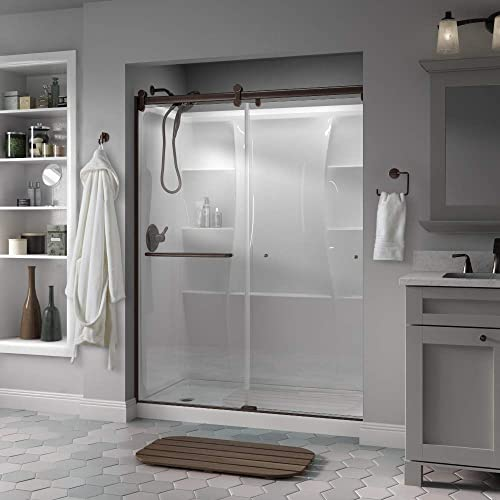 CRL Oil Rubbed Bronze 60 x 72 Suite EK Series Shower Door Kit