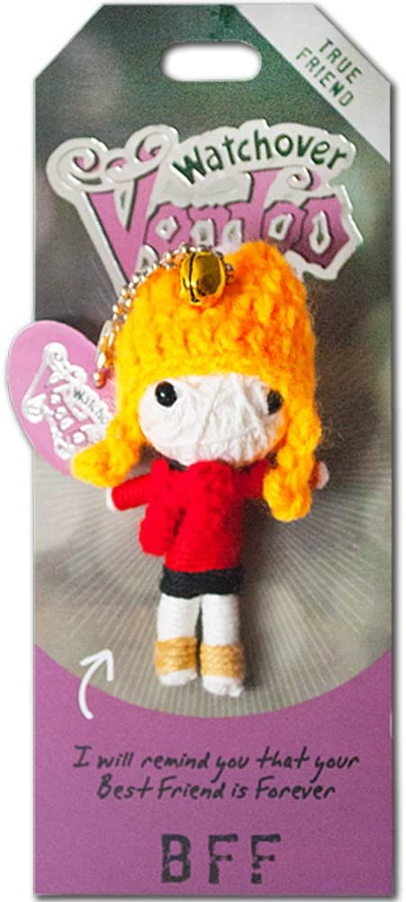 """Watchover Voodoo BFF Voodoo Doll Novelty, 4"""" x 2"""" x 1.5"""" (108010030)"""