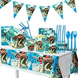 Moana Birthday Party Supplies  - Party Bundle Decorations For 10 Guests