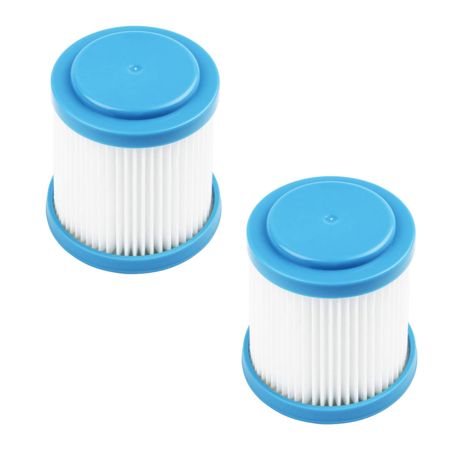 VPF20 Pleated Vacuum Filter Compatible with Black + Decker SMARTECH 2-in-1 Cordless Lithium Stick Vacuums (2-Pack)