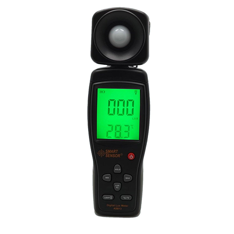 Luminance Tester Digital Lux Meter Light Meter 1-200000 Lux Tools Photometer Spectrometer Actinometer AS803 by WULE-Digital multimeter (Image #1)