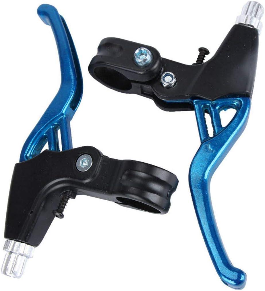 Bici Pieghevole Diametro Universale 22 mm Leve Freno in Lega di Alluminio per Mountain Bike Soolike Leva del Freno 1 Paio Maniglie dei Freni per Bici Bici da Strada