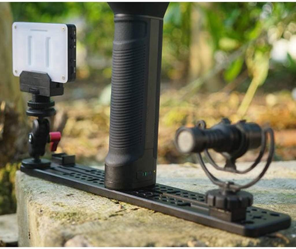 gazechimp Quick Release Mounting Baseplate 12 for Camera Stabilizer DSLR Rig