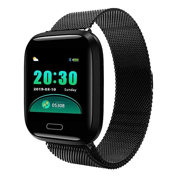 Smartwatch con Pulsómetro,Impermeable IP67 Reloj Inteligente ...