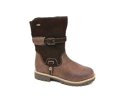 Leder Schuhe Gefüttert Gabor Stiefel Mädchen Boots Winterstiefel Tex n8mw0vN