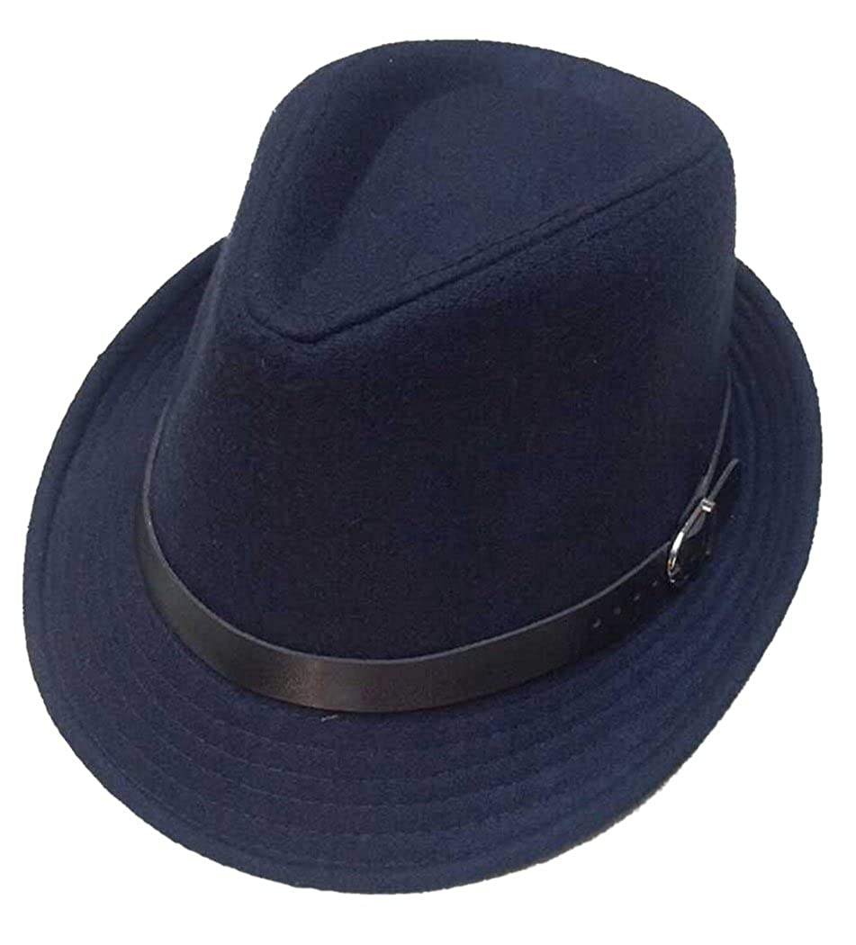 Fascigirl Sombreros Fedora Fresco Sombrero de Lana de Moda Para Hombres y Mujeres Fedora Hats