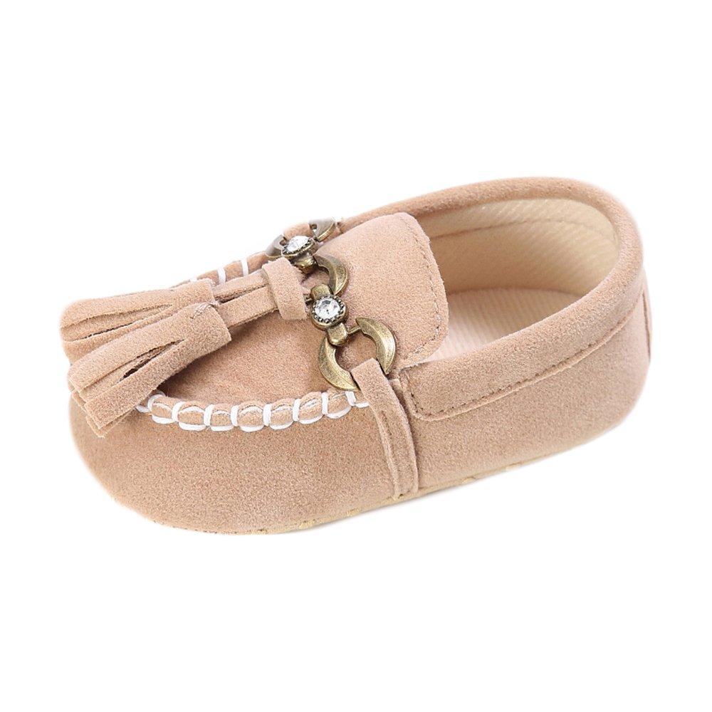 Estamico, Zapatos de los Mocasines de la Borla del Ante del bebé, Zapatillas de Deporte del Niño: Amazon.es: Zapatos y complementos
