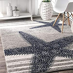 61UHsfSiKML._SS300_ Starfish Area Rugs For Sale