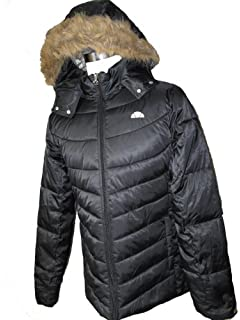 751c059f0 Ellesse Payton women s hooded warm nylon padded winter jacket coat XX Large  women s