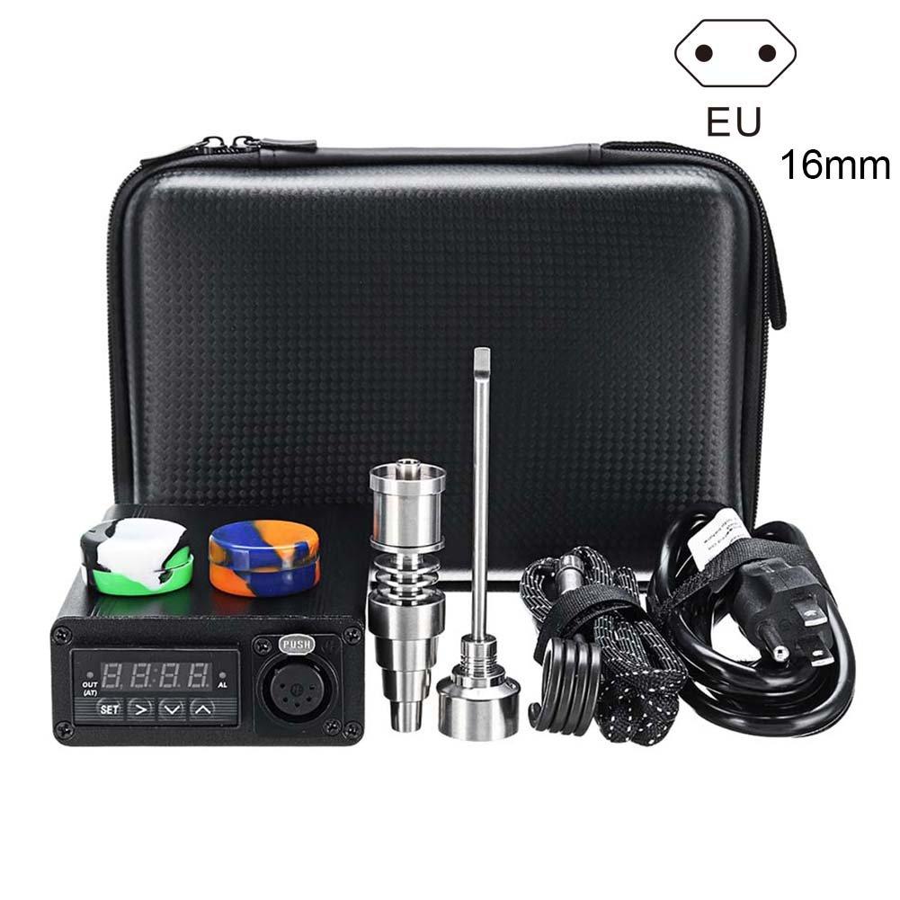 symboat el/éctrica titanio aleaci/ón E-nail Box Kit de control de la temperatura chauffe-huile aromaterapia