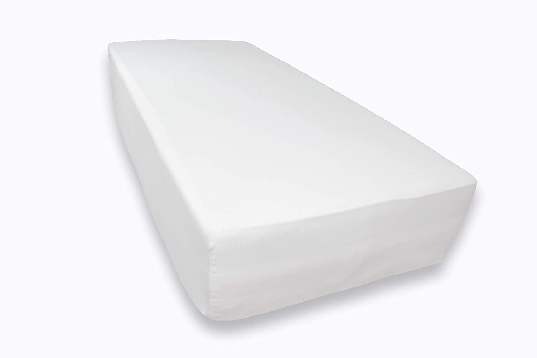 FYLO Moses Basket 100/% Cotton Fitted Sheet Lemon 2X Light Grey /& 2X White
