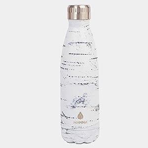 Manna Vogue Metallic insulated water Bottle 17 oz
