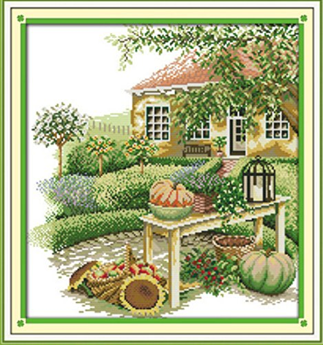 Green Home The Farm Fruit Scenery Decor,11CT 100% Printed On