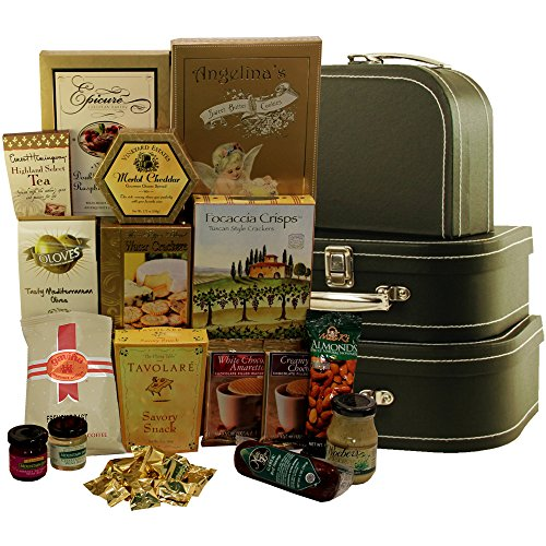 Art of Appreciation Gift Baskets The Gourmet Traveler Snacks and Treats Gift Tower