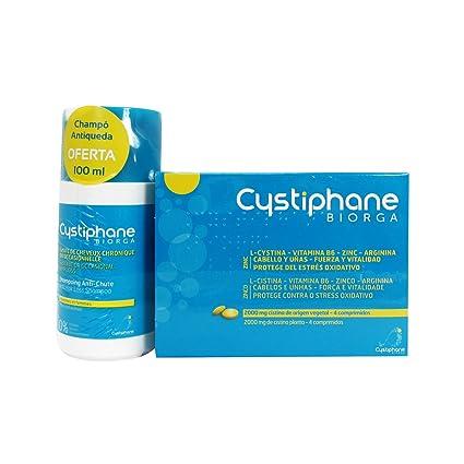 Cystiphane Pack Pelo Y Uñas 120 Comprimidos + Champú Antiqueda 100ml