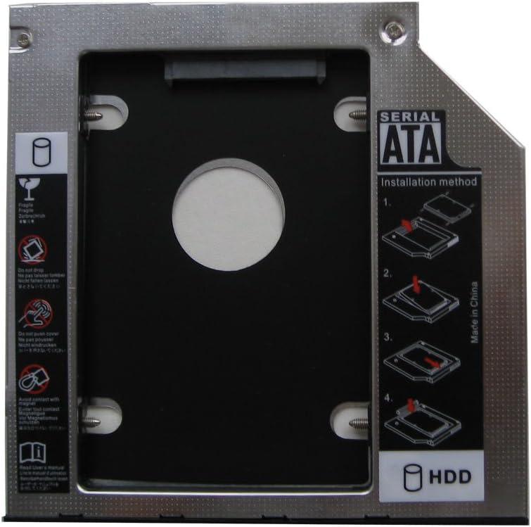 Media Bay Caddy Tray Second Hard Drive Sata HDD SSD Dell Precision M4700 M6700