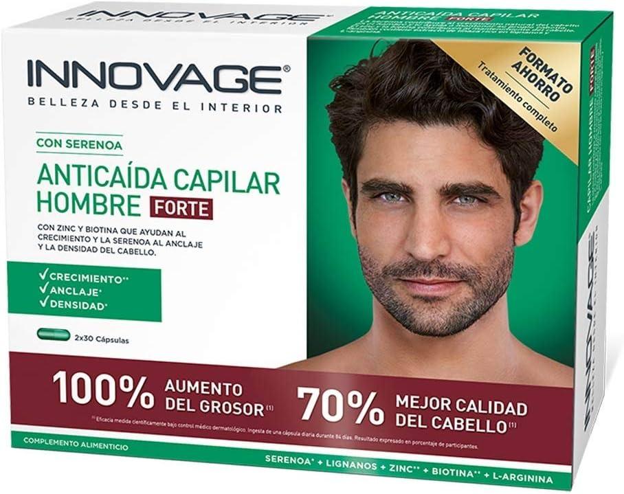 Innovage Innovage Potenciador Capilar Hombre Duplo, 2 x 30 capsulas