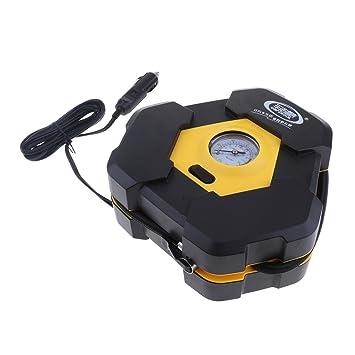 Homyl Bomba Portátil del Compresor De Aire, Inflador Automático del Neumático De Digitaces, Bomba