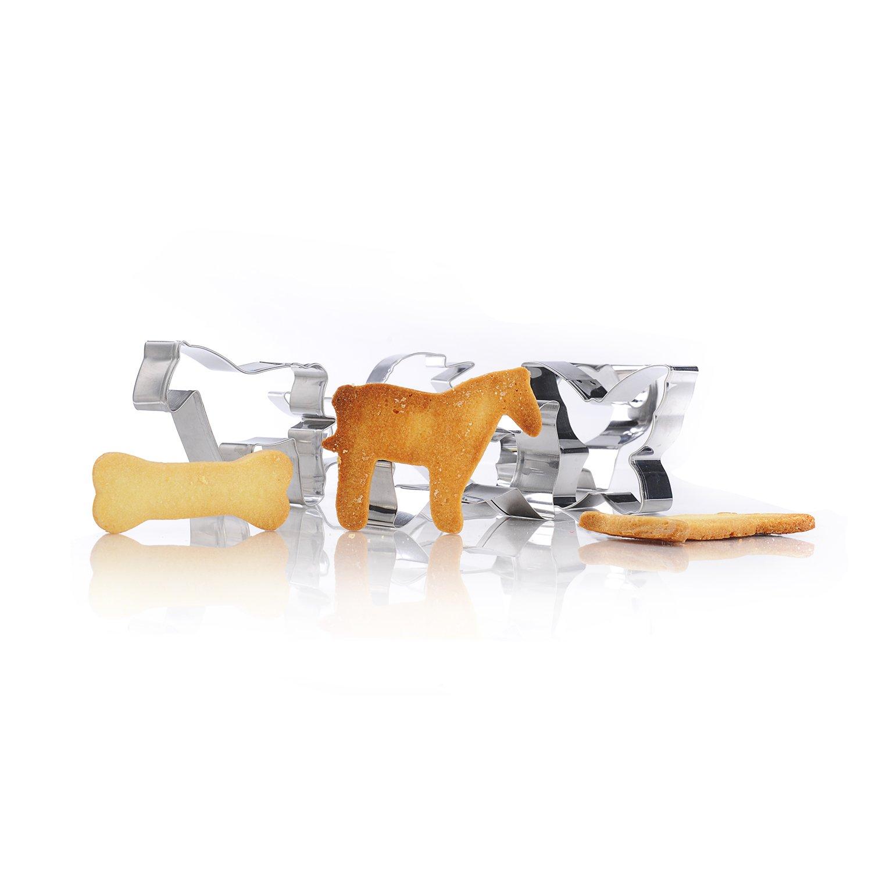 Cookie GWHOLE 26 x Moldes de Galletas Cortador Acero inoxidable para Pastel Fondant