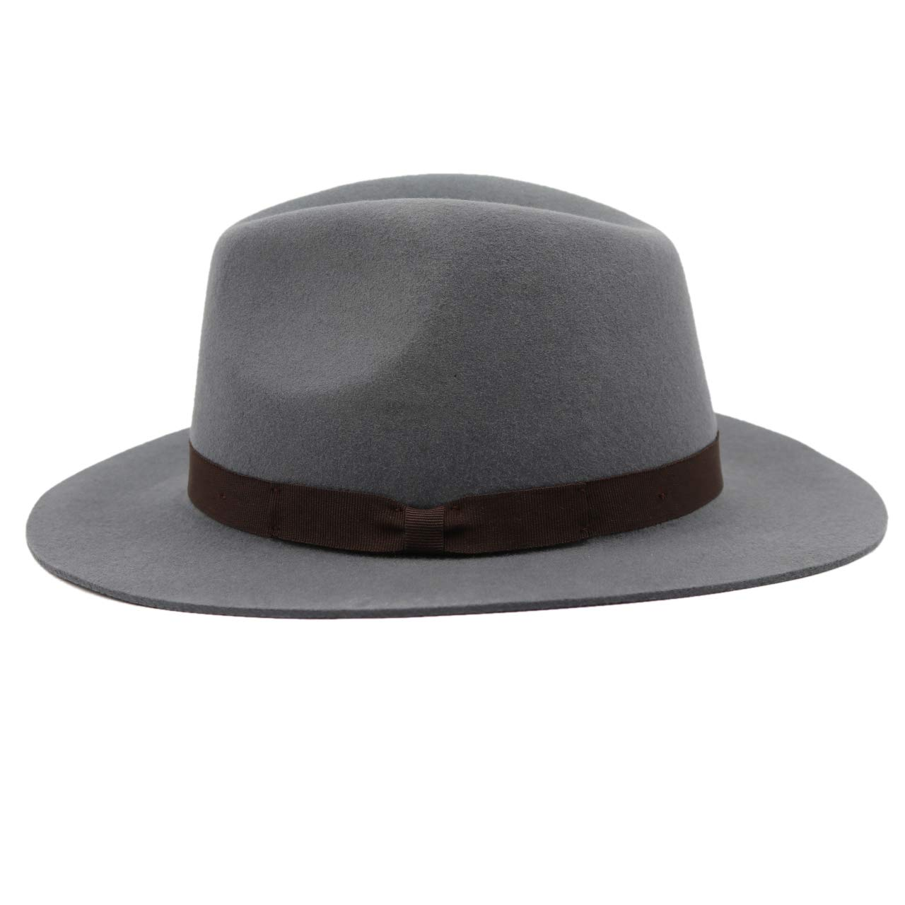 Stageya Capone Alpas 100/% Wool Felt Unisex Modern-Day Fedora Hat for Women /& Men