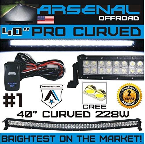 40 curved led light bar - 7